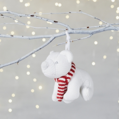 white - Polar Bear Christmas Decorations