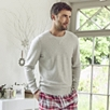 Knitted Sweatshirt Sleepwear