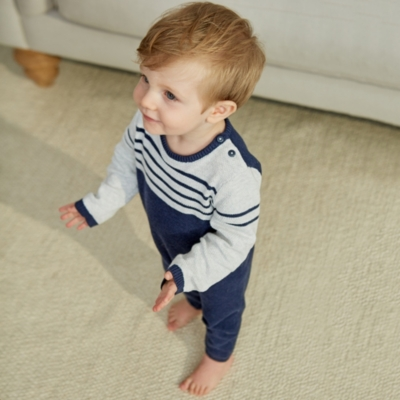 Knitted Romper - The White Company
