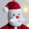 Knitted Santa Claus Decoration