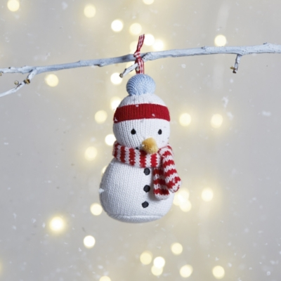 Knitted Snowman Decoration