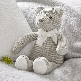 Knitted Teddy Bear Toy