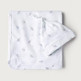 Kimbo Star Blanket & Hat Set
