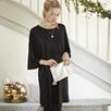 Kimono Sleeve Jersey Dress