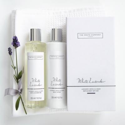 White Lavender Bath & Body Gift Set