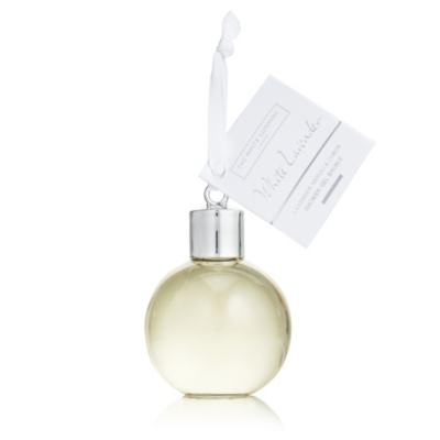 White Lavender Shower Gel Bauble
