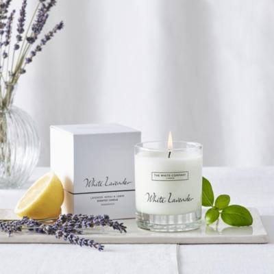 White Lavender Signature Candle
