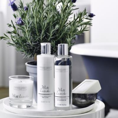 White Lavendar Soap
