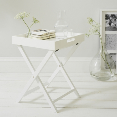 Lacquer Butleru0027s Tray | White Lacquer Collection | The White Company UK