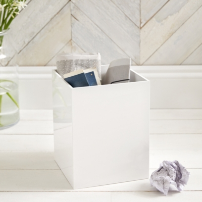 Lacquer Waste Paper Bin