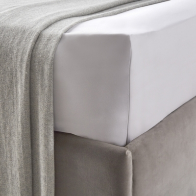 Lancaster Fitted sheet - Silver Gray