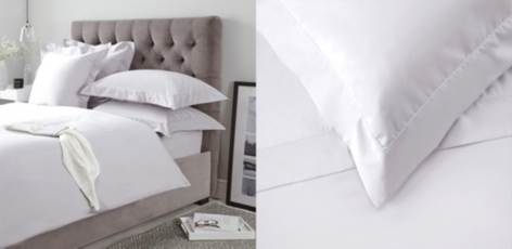 Lancaster Bed Linen Collection - Silver Gray