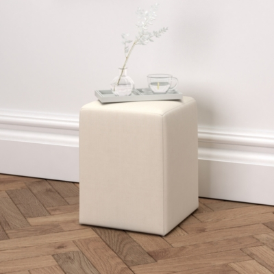 Langley Cotton Stool  - 3 Colours