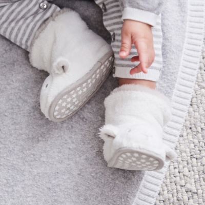Lamb Booties - The White Company