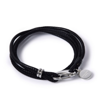 Leather Bracelets - Black