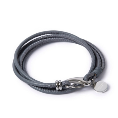 Leather Bracelets - Gray