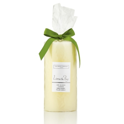 Lime & Bay Pillar Candle