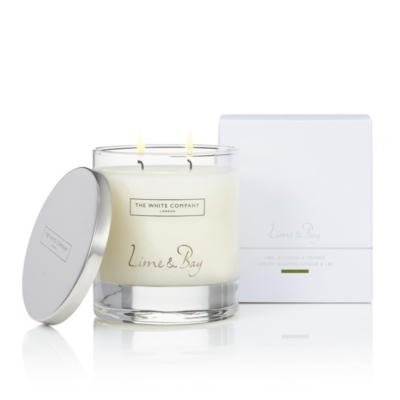 Lime & Bay Luxury Candle with Lid