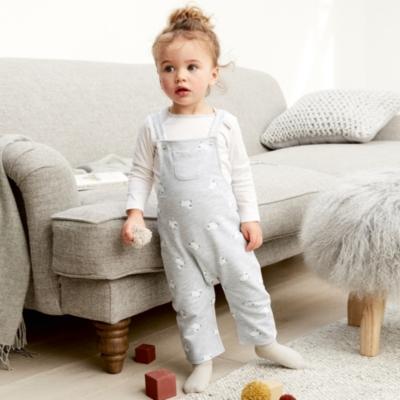Little Lamb Dungaree & T-shirt Set - The White Company