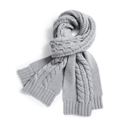 Large Cable Scarf
