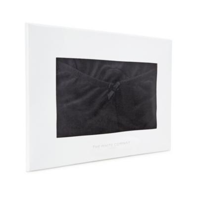Lace Trim Cami and Brief Set - Black