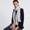 Wool Lace Detail Scarf