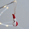 Mini Felt Father Christmas Decoration