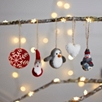 Mini Felt Penguin Decoration
