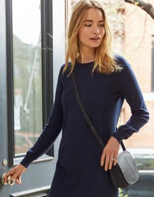 Leather Crescent Bag