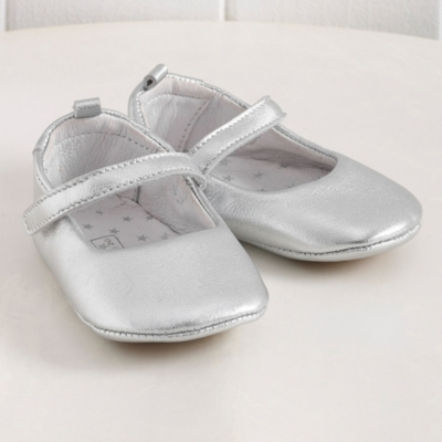 Leather Baby Ballet Pumps