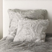 Luxury Faux Fur Throw - Dark Silver