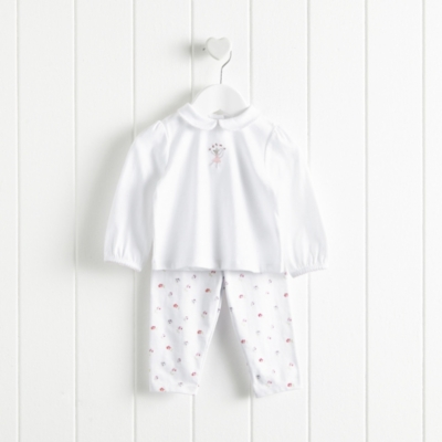 Lottie Floral Ballet Pajamas