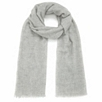 Lightweight Cashmere Scarf - Silver Gray Marl