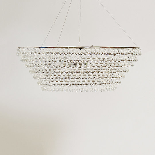 Glass orb chandelier large ceiling light ceiling lights the glass orb chandelier large ceiling light aloadofball Image collections