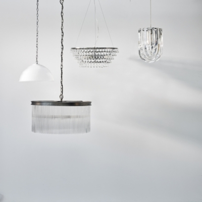 Glass Orb Chandelier Medium Ceiling Light