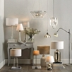 Solid Glass Orb Ceiling Light