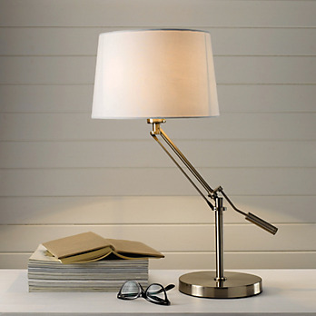 Steel Task Lamp - The White Company
