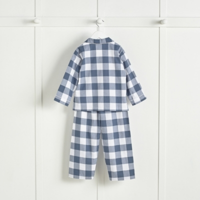 Large Gingham Flannel Pyjamas (1-6yrs)