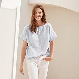 Linen Shell T-Shirt