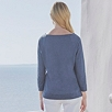 Linen Boat Neck Top
