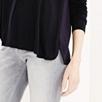 A-Line Jersey Mix Shirt