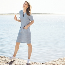 Linen Pocket Dress