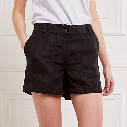 Linen Pocket Detail Shorts