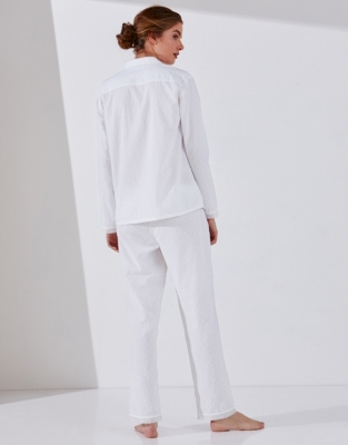 Cotton Dobby Pyjama Set