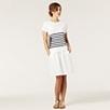 Linen Skirt - White