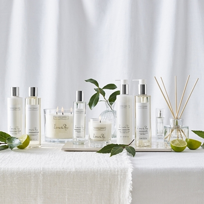 Lime Amp Bay Collection Our Fragrances The White Company Uk