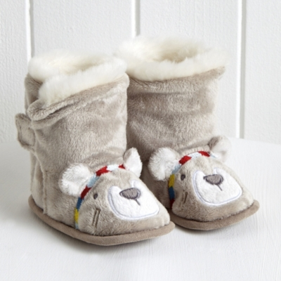 Little Warrior Bear Booties