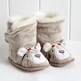 Little Warrior Bear Booties