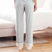 Lace and Bow Trim Pajama Bottom