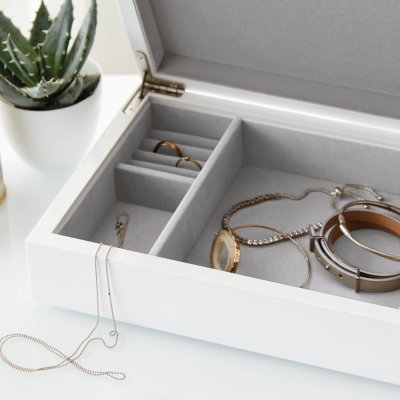 Lacquer Jewelry Box Lid